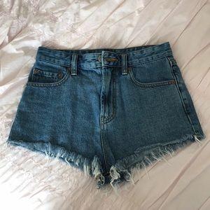 Urban Outfitters Cutoff Denim Shorts